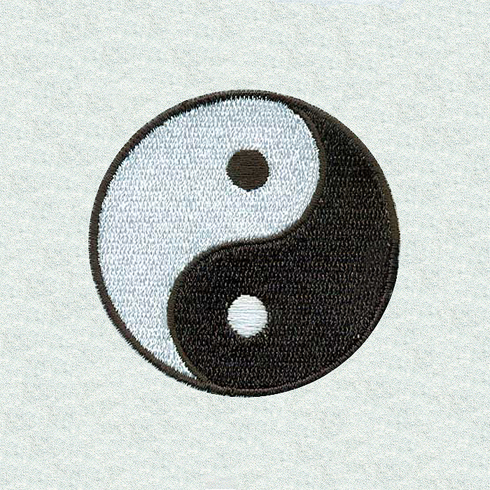 Ying Yang Symbol C Magic Stock Art