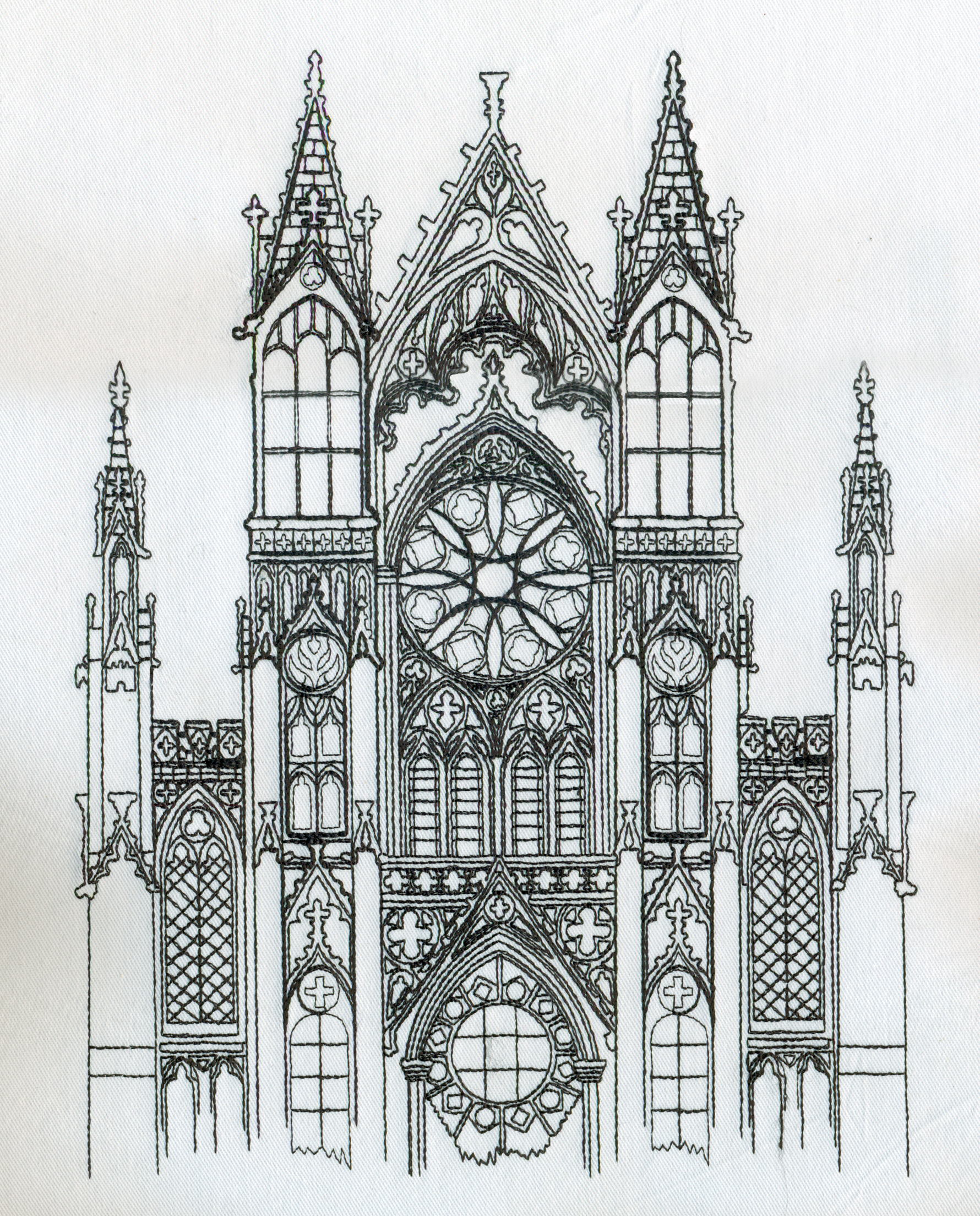 Gothic Building Sketch J